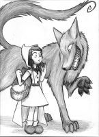 Little Red Riding Hood pg.2 by ThreadandClaws