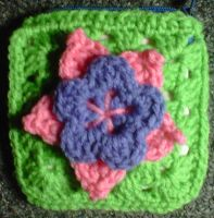 flower change purse by crochetamommy