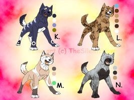 ADOPTED Ginga Wolves 4 by Yazora