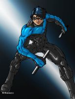 Nightwing by Sakuseii