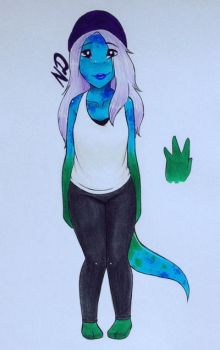 hipster lizard adopt [CLOSED] by MODSISAWESOME123