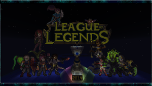 League2014Minecraft by ScreamheartArt