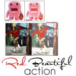 Red Beautiful Action by shinesmile