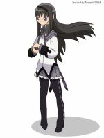 Homura by Insanity-Heart