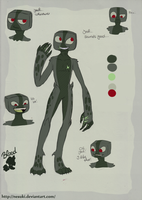 Enderman OC by Nesuki