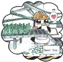 Gunter - I break bottles by Shiroiyuki3