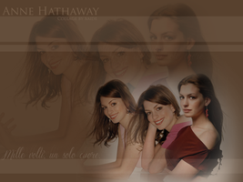 Collage Anne Hathaway by xaide89