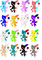 Sneasel Adopts -CLOSED- by Sooty123