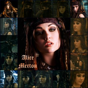 Alice Merton Collage by Mnemosyne-Mapple
