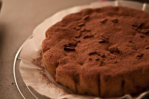 Simple chocolate cake... by Yohao88DG