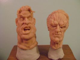 Celebrity Caricatures sculpt by b1938dc