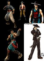 Kung Lao Evolution by W-Orks