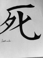 Death in Kanji by Met4lHeadedArtist15