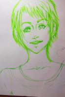 green smile by thedrumergirl