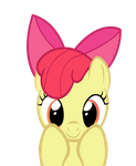 really cute apple bloom by kuren247