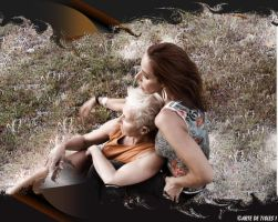 Two of a Kind .... Relaxing... by Tigles1Artistry