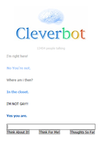 Really Cleverbot? by LittleFlower23