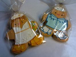 Cowboy Wedding Cookies by eckabeck