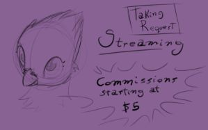 Stream - Icon Night - doing requests by Dsurion