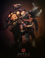 Dota 2 Centaur Warchief by d-k0d3