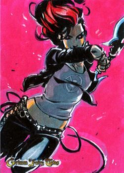 Zenescope Sketchcard Grimm Fairy Tales: HellChild by BeaGifted
