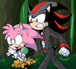 SatAM Amy and Shadow by General-RADIX