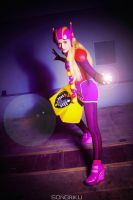 Honey Lemon Armor Version Cosplay - Big Hero 6 by mimsrocks