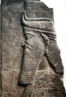 assyrian king by dreamscolour