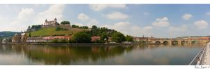 Wuerzburg by the Main by KrisSimon
