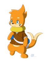 Traveling Buizel by BuizelCream