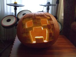 Creeper Jackolantern by Vicious713