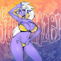 Summer Fun Contest Entry by maniacpaint by Scratchtastic