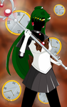 Sailor Pluto by anotherwannabeartist