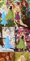 The Four Seasons by MischiefSpirit