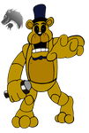 2nd style Golden Freddy by Chibi-Tediz