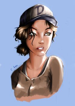 Clementine - Portrait by chrisaoba