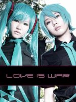 Love is War: Miku x Mikuo by Zungie