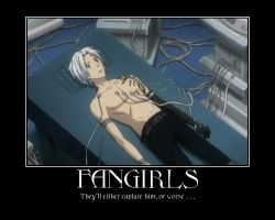 Allen Walker Demotivational Fangirls by Onikage108