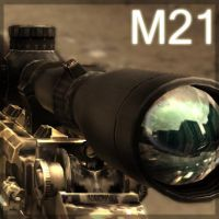 M21-SemiAutomatic Sniper Rifle by rey-apel