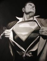 Superman by Artnicow