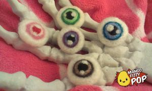 Eye Brooches by valandelle