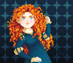 Princess Merida by Raiilynezz