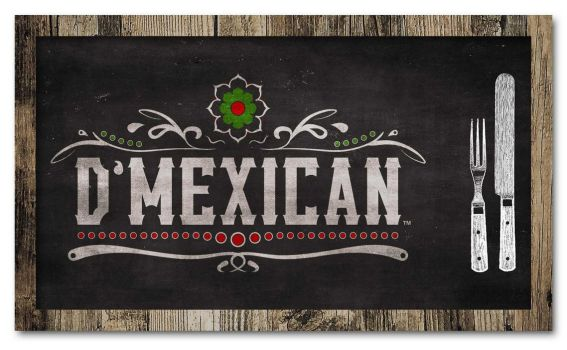 D'Mexican Restaurant Logo by slater101