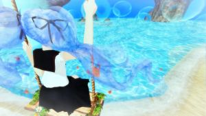 [MMD] By The Sea - Bottle Miku by MewMewKittyMewMew