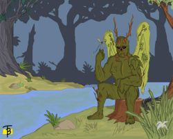 Swamp Thing Background by TadBrock