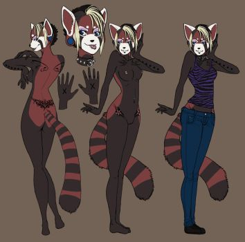 Punky Panda. by Nocturia