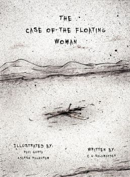 Cover - The Case Of The Floating Woman by wowtheskyisblue