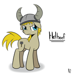 Commission: Helhoof by DatAhmedz