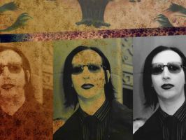 Marilyn Manson Art Wallpaper by mansonbr