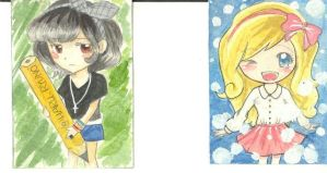 ACEO cards by haru-ryuno